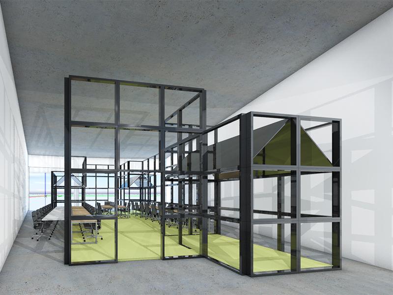 JOUS architecten_verbouw praktijklokaal ROC Friese Poort 1