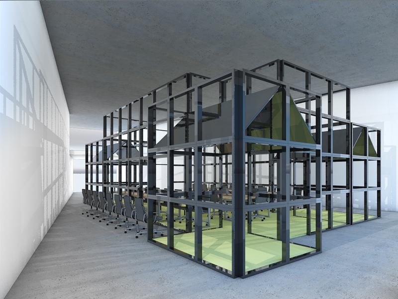JOUS architecten_verbouw praktijklokaal ROC Friese Poort 2