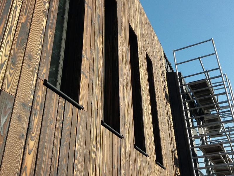 JOUS architecten Joure_op bezoek brandweerkazerne Surhuisterveen