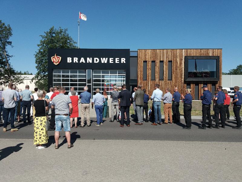 JOUS architecten Joure_opening brandweerkazerne Surhuisterveen