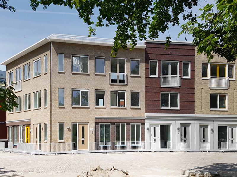 JOUS architecten Joure_oplevering woningen Duinluststraat Amsterdam