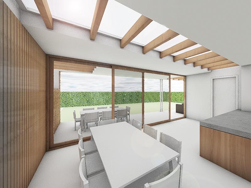 JOUS architecten Joure_verbouw tuinkamer woning Joure 1