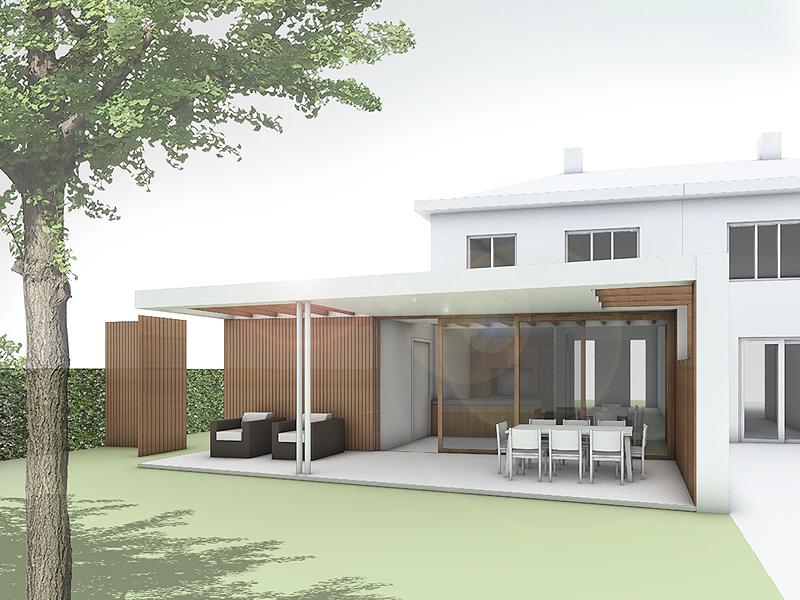 JOUS architecten Joure_verbouw tuinkamer woning Joure 2