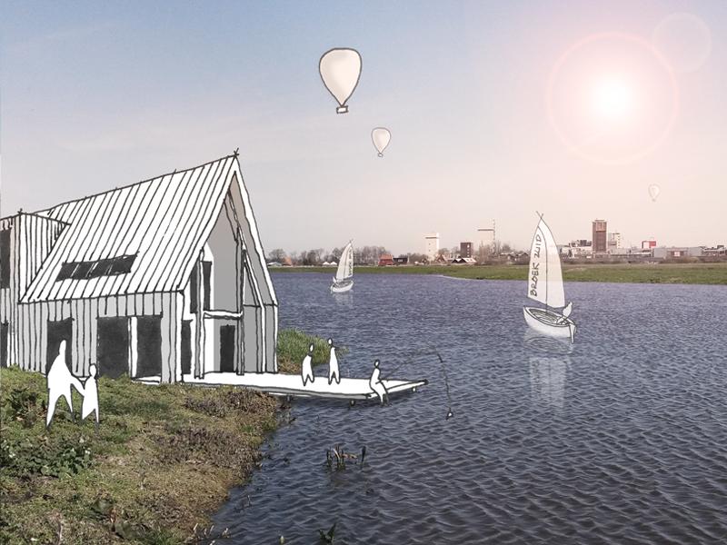 JOUS architecten Joure_nieuwbouw woning schuurwoning Broek-Zuid Joure De Fryske Marren