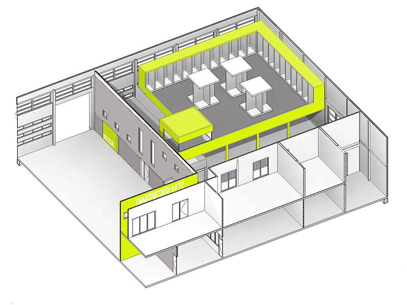 JOUS architecten_timmerwerkplaats ROC Friese Poort 2
