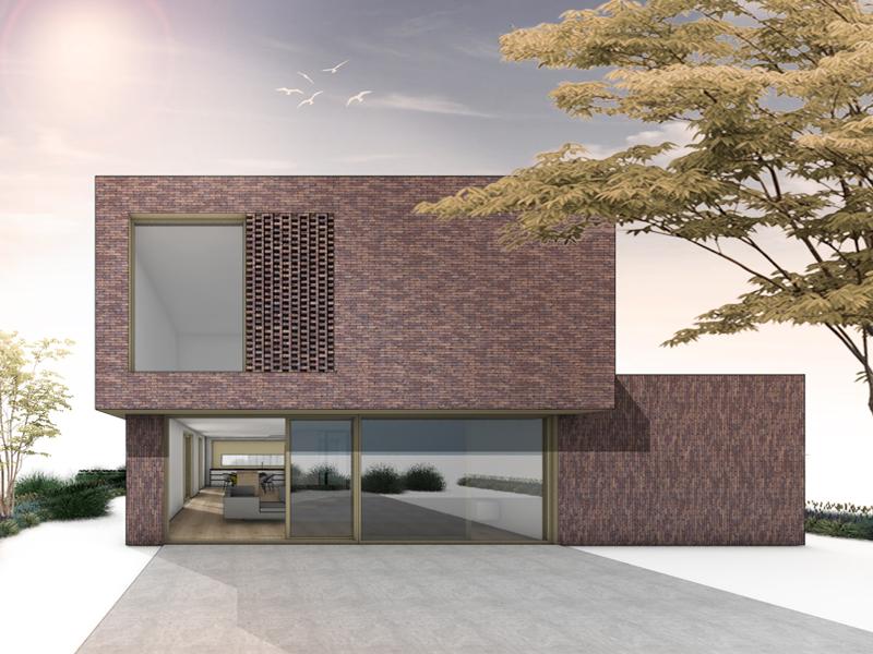 JOUS architecten Joure_nieuwbouw woning kubuswoning Stiens CLT Hectar