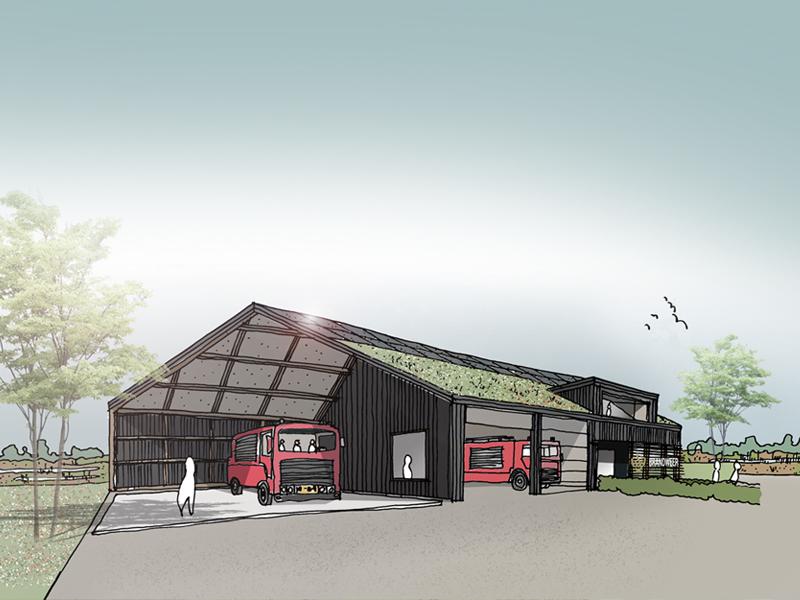JOUS_nieuwbouw brandweerkazerne Tienhoven 3a