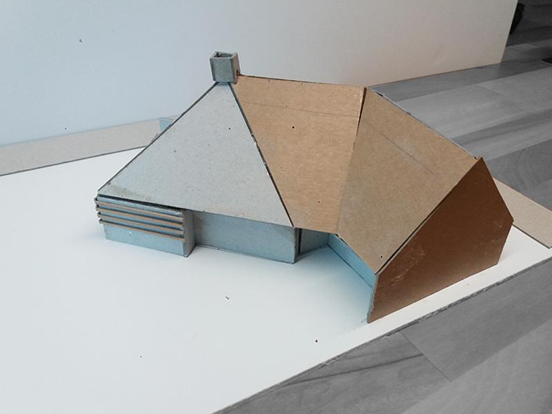 JOUS architecten Joure_verbouw piramidewoning Joure 1