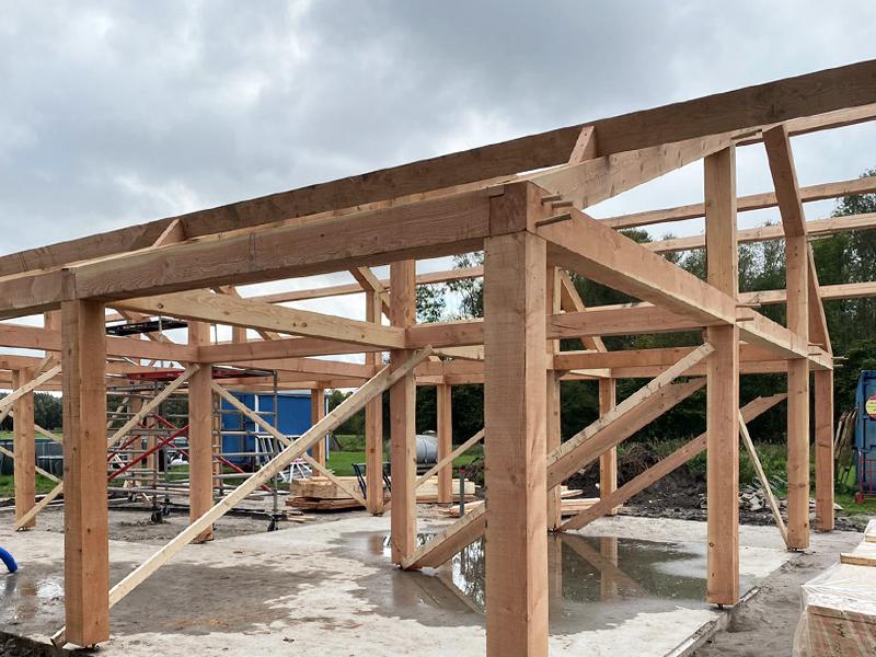 JOUS architecten Joure_nieuwbouw schuur Leeuwarden 2