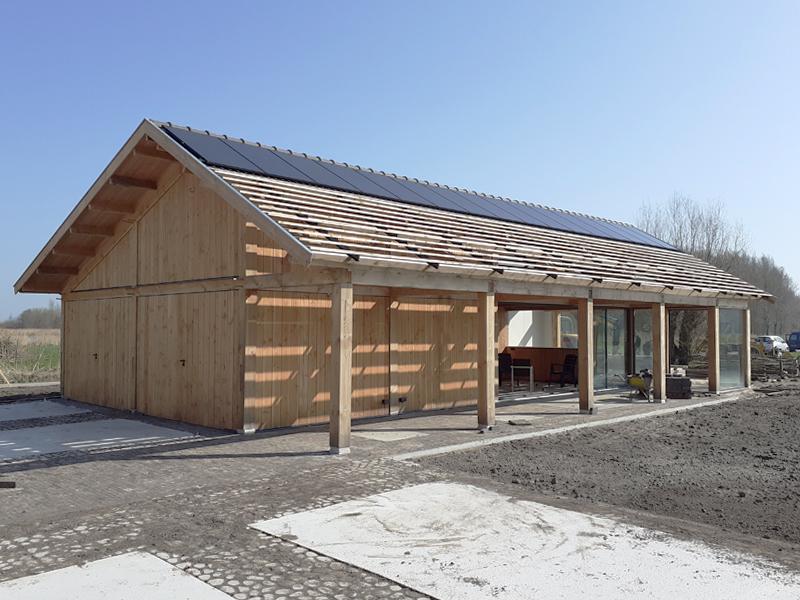 JOUS architecten Joure_nieuwbouw schuur Leeuwarden