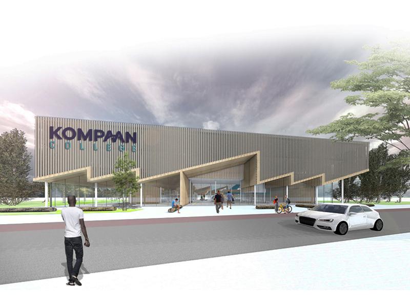 JOUS architecten_nieuwbouw Kompaan College 1