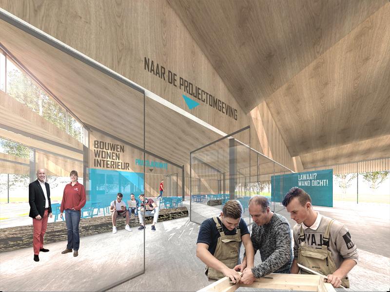 JOUS architecten_nieuwbouw Kompaan College 5