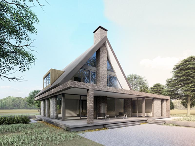 JOUS architecten Joure_nieuwbouw woonhuis Van Aalsum 1